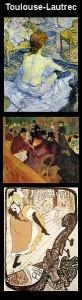 PEINTURES Toulouse-Lautrec