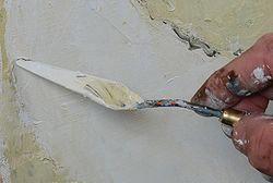 La peinture au couteau dans PEINTURE ET MATIERES couteau