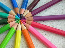 Les crayons de couleur et crayons aquarellables dans PEINTURE ET MATIERES crayon